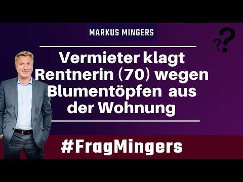 Vermieter klagt Rentnerin (70) wegen Blumentöpfen aus der Wohnung | #FragMingers
