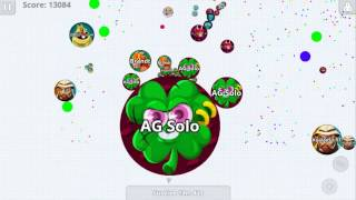 Agar.io Best Double Split Stealing Solo vs Team Dominating Agario Mobile Best Moments!