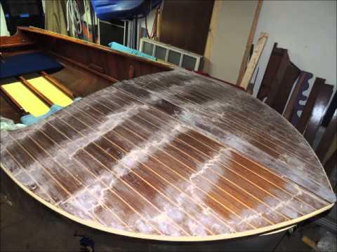 Wagemaker Wolverine Mahogany Runabout Boat Restoration
