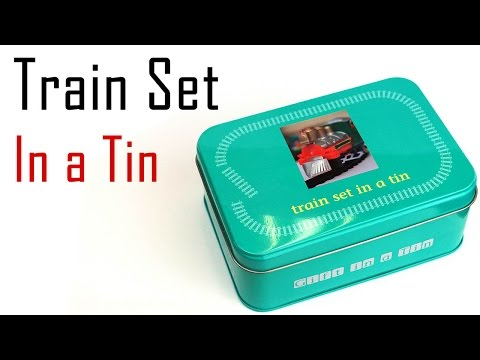 Unboxing the Train Set in a Tin