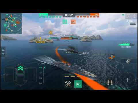 World Of Warships Blitz | Best Battleship Game- Android Gameplay #10 | Kids Toys Zone