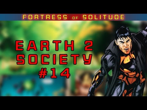 Earth 2 Society #14 REVIEW