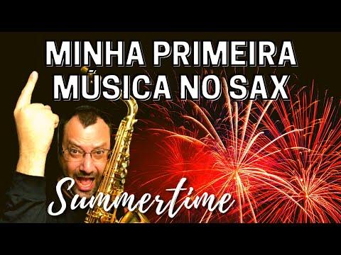 A Primeira Música no Sax (#001 - Iniciantes) por Daniel Vissotto