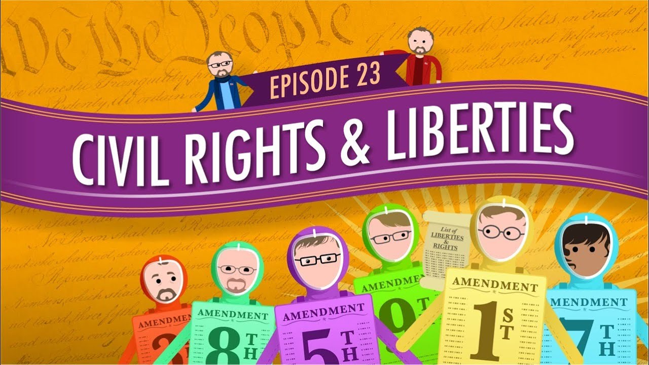 Download Civil Rights & Liberties: Crash Course Government #23