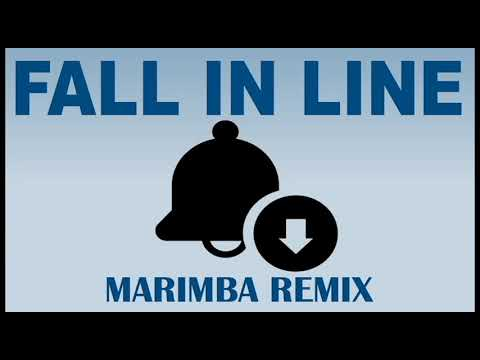 Latest iPhone Ringtone - Fall in Line Marimba Remix Ringtone - Christina Aguilera
