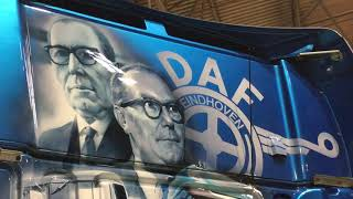 DAF Trucks UK DAF XF106 1DAF at World Skills , Birmingham