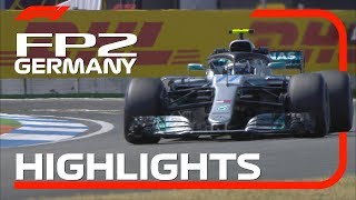2018 German Grand Prix: FP2 Highlights