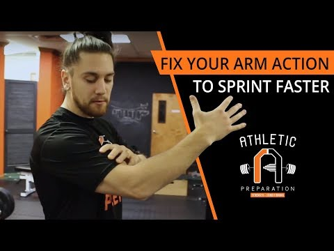 How To Sprint Faster By Fixing Your Arm Action Technique