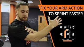 How To Sprint Faster By Fixing Your Arm Action