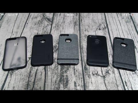 Google Pixel XL Incipio Case Lineup and Flexible Glass Screen Protector
