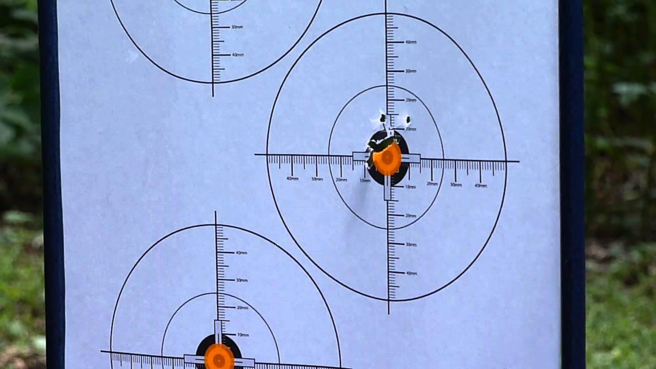 A4 Paper Card Airgun Air Rifle Air Soft Shooting Range