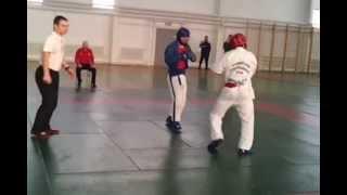 Галлямов красный VS мастера спорта по вольной борьбе