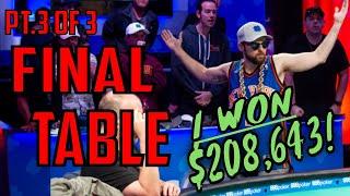 How I Turned $400 into $208,000. Pt.3 (Gambling Vlog #56) 2019 WSOP