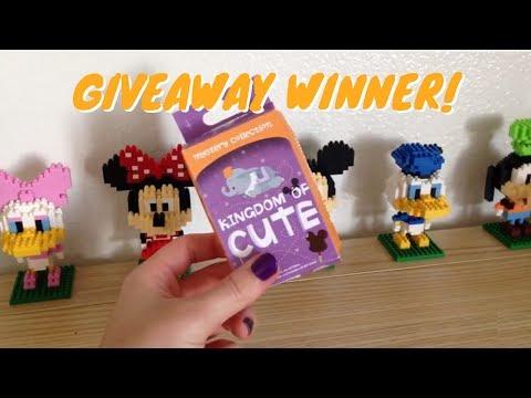 Kingdom of Cute Giveaway Winner!