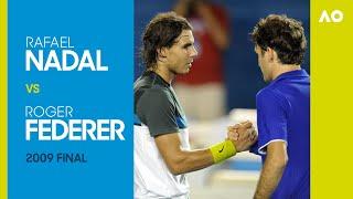 AO Classics: Rafael Nadal v Roger Federer (2009 F)