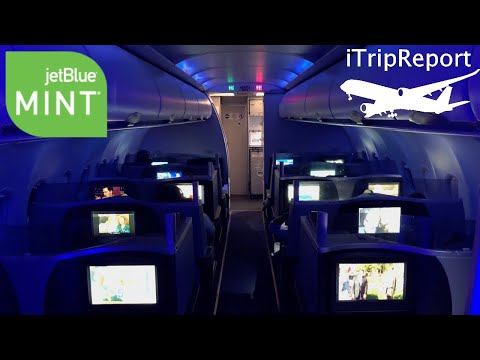 The JetBlue Mint Experience THE 600 DOLLARS FIRST CLASS SUITE