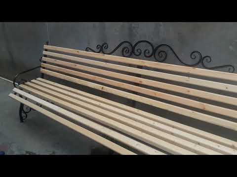 Своими руками скамейки и кресла(1)