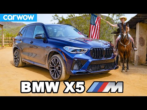 BMW X5M review - will it pass 7 USA challenges?