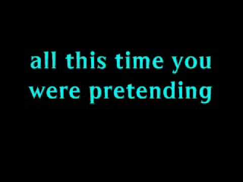 AVRIL LAVIGNE LYRICS for (So Much For) My Happy Ending (onscreen text)