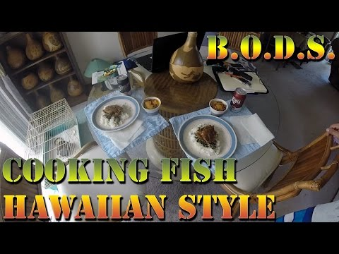 How to Pan Fry Fish Hawaiian Style - Cooking Papio With Danny D
