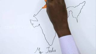 How to Draw My India