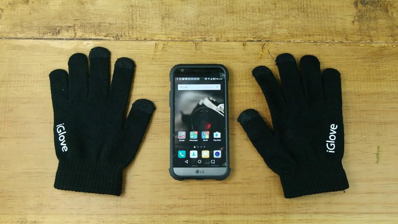 77101566c0c iGlove - Guantes para tu celular!!! - YouTube