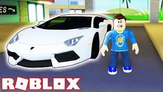 I BOUGHT MY FIRST LAMBORGHINI in ROBLOX! *1 Million Dollar Super Car!*