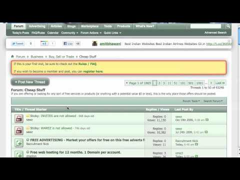 Internet Marketing - How to Make Money with Forums