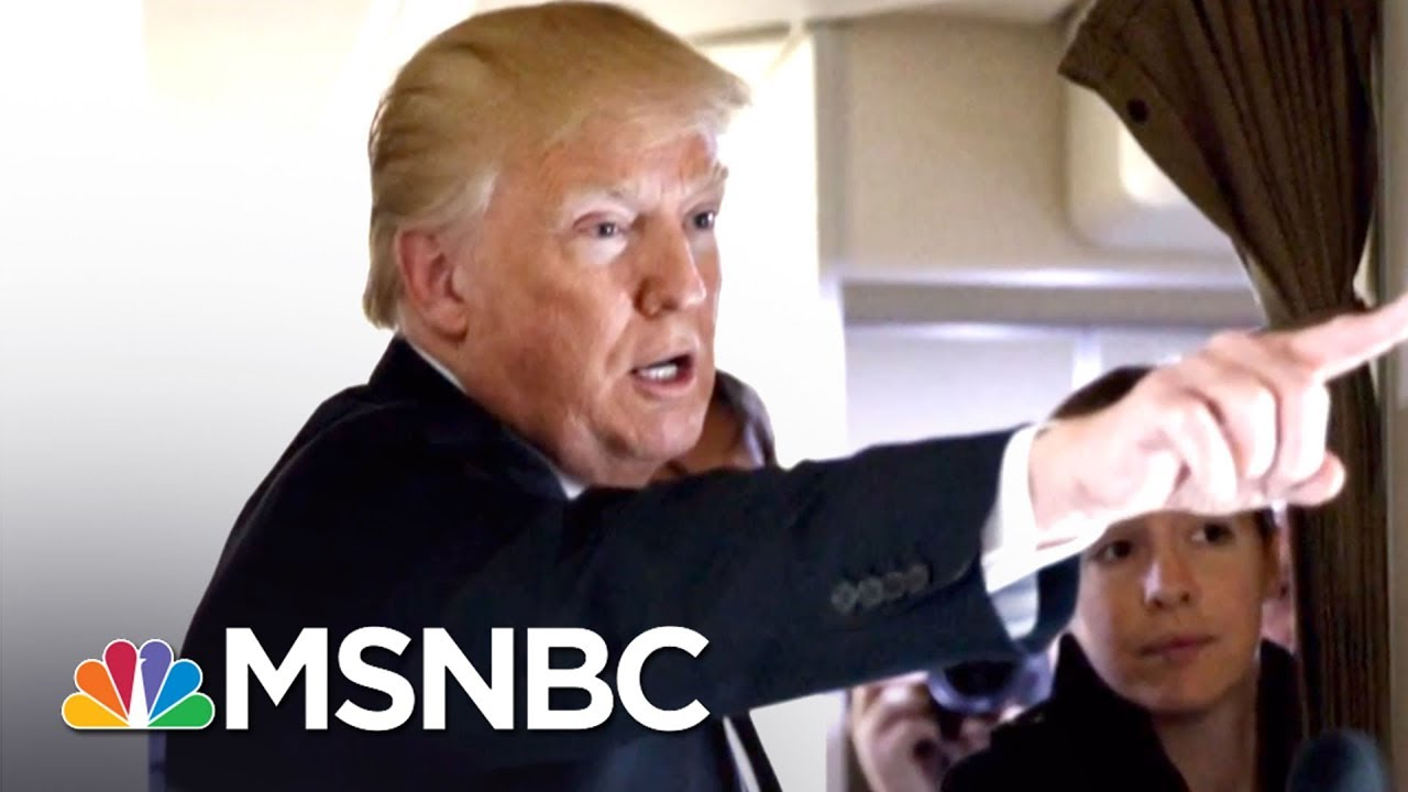 President Trump Denies Knowledge Of Payment To Porn Star Stormy Daniels | The 11th Hour | MSNBC