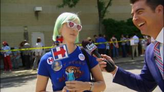 Watters goes to a Clinton rally.