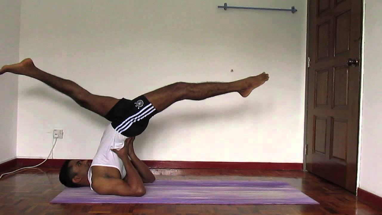 Easy steps to accomplish Uttana Padma Mayurasana - YouTube