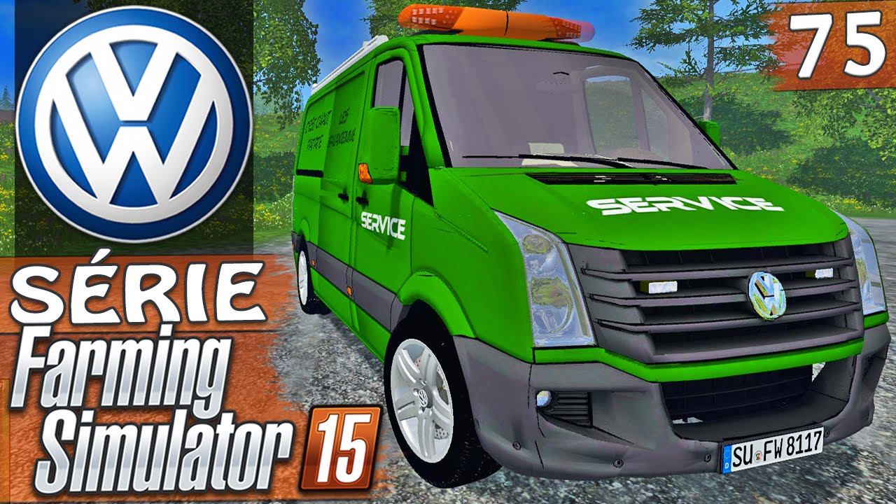 farming simulator 2015 volkswagen servi os youtube. Black Bedroom Furniture Sets. Home Design Ideas