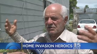 LOCAL HERO: A Bay Area man is being called a hero for rescuing his wife from an attacker