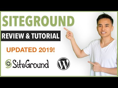 Complete Siteground Review & WordPress Tutorial - Best Web Host for 2018?