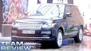 Fifth Gear Team Review Range Rover смотреть