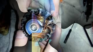 Ремонт моторчика отопителя печки Тойота Камри(Toyota Camry) 40 своими руками. Замена подшипников.