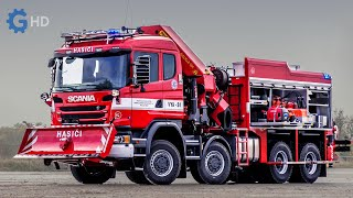 Самые современные пожарные машины в мире, которые вы должны увидеть ▶ Tatra TITAN