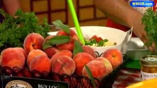 Garden-fresh Peach Salsa