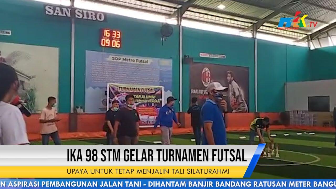 Jalin Silaturrahmi IKA 98 STM Gelar Turnamen Futsal