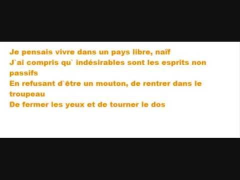 IAM - Dangereux (with lyrics)