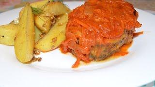 Рыба под маринадом в духовке (Вкусняшки от Ксюняшки)