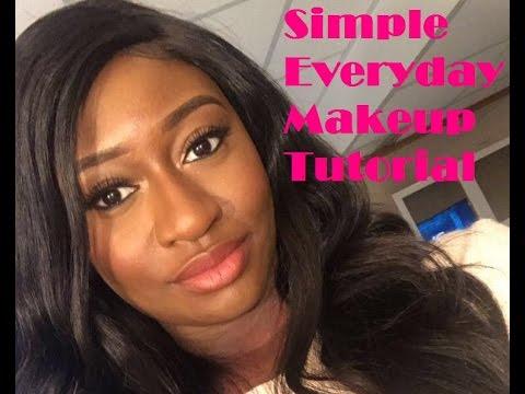 Simple Everyday makeup look  BREA LYNN