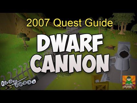 Runescape 2007 Dwarf Cannon Quest Guide