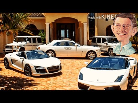 Bill Gates Insanely Hot Car Collection - Porsche 911, Aventador, Bugatti Veyron