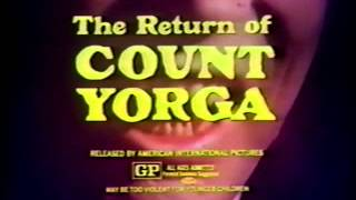 The Return of Count Yorga 1971 TV trailer