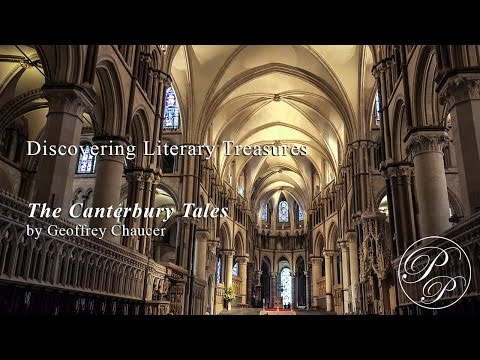 Discovering Literary Treasures: The Canterbury Tales by Geoffrey Chaucer