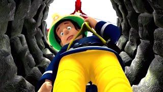 Feuerwehrmann Sam Deutsch  Sam geht den Brunnen hinunter Neue Folgen Zeichentrick für Kinder