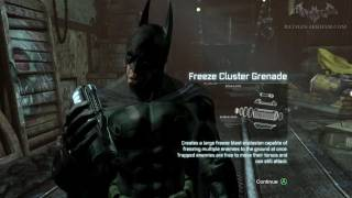 Batman: Arkham City - Hot and Cold (Stolen Freeze Tech) - Side Mission Walkthrough