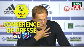 Conférence de presse Olympique Lyonnais - Paris Saint-Germain (0-1) / 2019-20