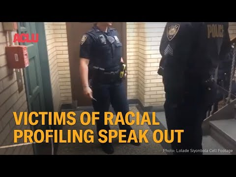 Victims Of Racial Profiling Speak Out